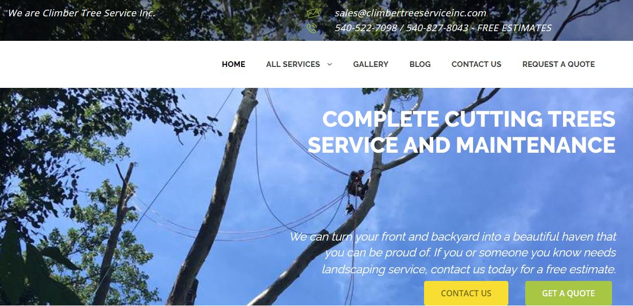 Climber Tree Service Inc.